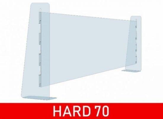 Divisorio in plexiglass trasparente antidroplet