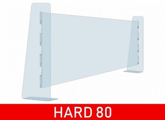 separatore in plexiglass per bar